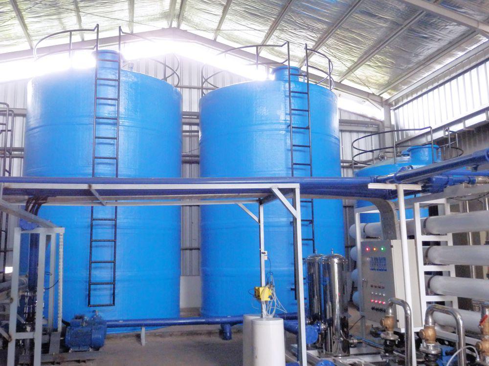 Tangki air fiberglass