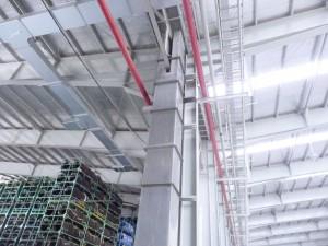 pipa pvc diganti talang tegak fiberglass untuk air hujan