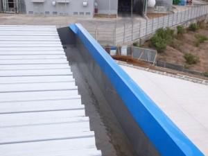 Talang air fiberglass untuk pabrik
