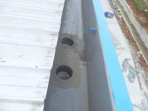 Corong fiberglass untuk pipa pvc