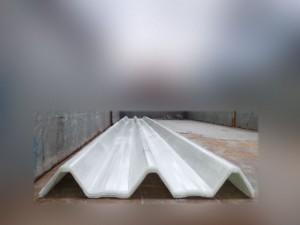 Atap fiberglass tipe BL 600 Warna transparen