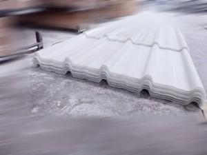 Atap fiberglass tipe USR 1005 Warna transparan