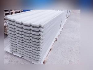 Atap fiberglass tipe GG 750 Warna transparan