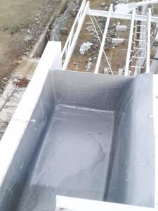 Ujung talang air fiberglass
