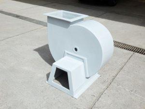 Exhaust fiberglass permintaan sesuai customer