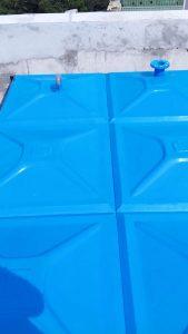 Photo roof tangki panel fiberglass