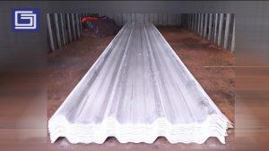 Atap tipe VSR 950 warna bening transparent