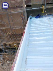 Rain gutter fiberglass sangat cocok untuk pabrik dan gudang.