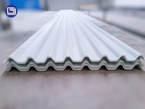 Roof light fiberglass gelombang tipe LT-7.