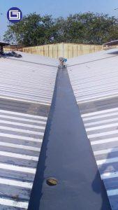 Menggunakan top coating untuk tahan terakhir untuk ketahanan sinar uv matahari dan mencegah korosif.