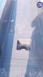 Photo box dan corong air fiberglass.