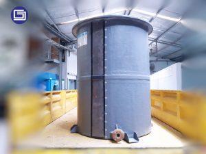 angki fiberglass bergaransi 10 tahun tidak bocor, bisa menggunakan untuk pabrik dan perumahan.