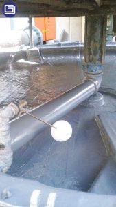 Pelapisan coating bisa diaplikasikan untuk permuaakn beton, baja dan keramik.