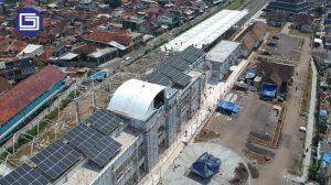 View dari atas proyek Stasium KIA Garut.View dari atas proyek Stasium KIA Garut.